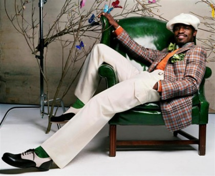 Andre 3000 Orange Shirt