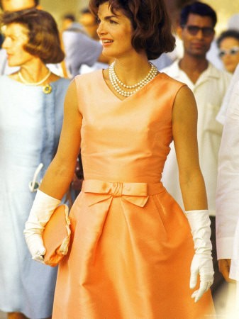Jackie Kennedy Orange Dress