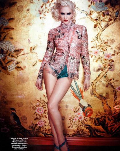 14 Gwen Stefani InStyle Magazine B