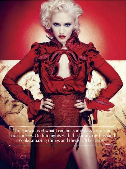 2 Gwen Stefani InStyle Magazine