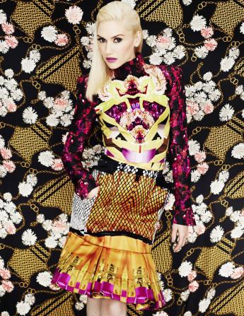 6 Gwen Stefani Elle Magazine