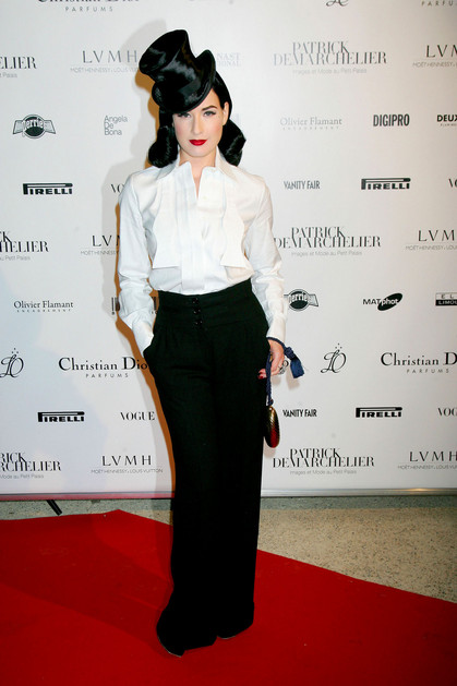 Dita Von Teese Patrick DeMarchelier Exhibit