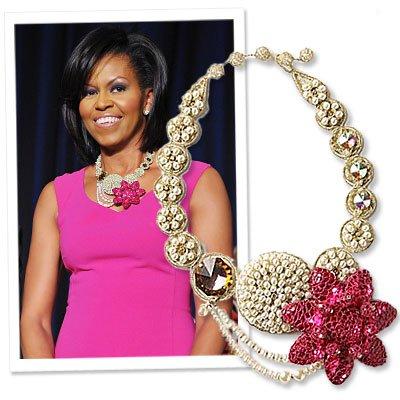Michelle Obama Michael Kors