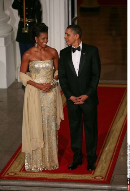 Michelle Obama Naeem Khan 2
