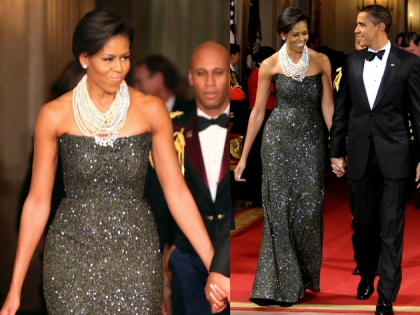 Michelle Obama Peter Soronen