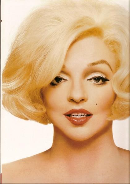 Liza as Marilyn