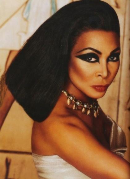 Tina as Cleopatra